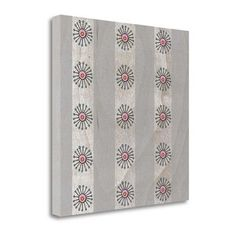 Tangletown Fine Art 'Squid Accent Pattern' by Cheri Wollenberg Graphic Art on Wrapped Canvas