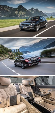 The impressive Mercedes-Benz S-Class.