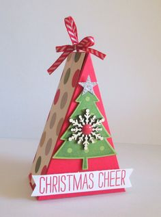 Christmas Tree Box, Amy Storrie, www.stampedwithjoy.com