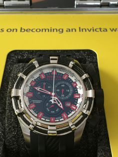 Invicta Reserve 50mm Bolt Swiss Made Quartz Chronograph Strap Watch. Model: 20479