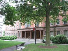 Winants Hall. Once the first dorm at Rutgers, it is now the home of the Rutgers University Alumni Association!