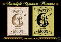 Halloween Witch stencil  Party On The Moon >>> Want additional info? Click on the image.