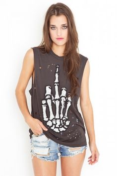 UNIF Hail No Muscle Tee