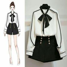 ✔ Fashion Drawing Outfits Art Source by dress sketches Cute Fashion, Look Fashion, Trendy Fashion, Girl Fashion, Fashion Art, Kawaii Fashion, Komplette Outfits, Korean Outfits, Fashion Outfits