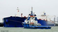 Photo by @portzoom VLCC HILWAH 333X60X22M  #ship #shipping #tanker #tankers #crude #crudeoil #crudeoiltanker #seamen #seafarer #oil #offshore #Port #portofrotterdam #Europoort #harbour #vlcc #seafarerslife #captain #offshorelife #Sea #vessel #biggest #mega #megaship #ultra #ultralarge #planet #shipstagram #tugboat_lovers by sepinero