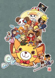 One Piece! So kawaii!