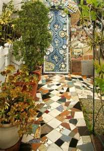 Mosaic house & Door Murals - Persian Custom Mosaic Tile