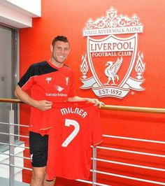 James Milner an English international has signed Liverpool Football Club from Man.City on a so called swap with England team-mate Raheem Sterling,