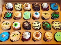 #Halloween assortment! Can't decide which Halloween #cupcakes you want; just order our Halloween assortment. Available tomorrow and Saturday! # #happyhalloween #jamesandthegiantcupcake #jatgc #cupcakestagram #instagood #yummy #bayareaeats #oaklandeats #oakland #halloweenparty
