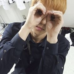 170801 EXO Instagram update - baby Hunie <3