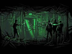 """Dan Mumford """"Never send a human to do a machine's job. Dan Mumford, Agent Smith, The Notebook, Classic Movie Posters, Film Posters, Foreign Movies, Batman, Pop Culture Art, Indie Movies"""