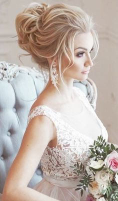 Wedding Hairstyle Inspiration   #hairstyles #weddinghairstyles