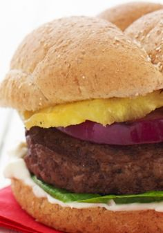 Grilled Hawaiian Burger The ultimate burger for any barbeque