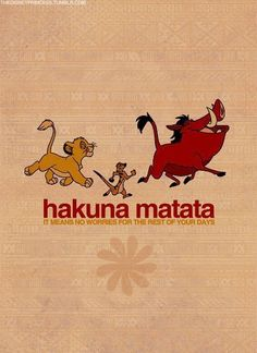 Quotes From The Lion King Hakuna Matata Quotes from the lion king