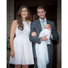 Princess Amalia of Luxembourg  Prince Felix and Princess Claire of Luxembourg's daughter was baptized at the Saint Ferreol Chapel in Lorgues, France on July 12, 2014. The beaming mom coordinated with her daughter wearing a beautiful white dress. Félix's younger sister Princess Alexandra was chosen as the godmother while Claire's older brother, also named Felix, was named as the godfather.