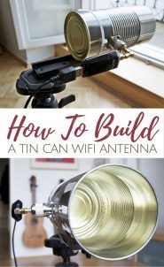 How To Build A Tin Can WiFi Antenna - This little hack improves your wifi range so much the modem companies have tried to hide this for years.