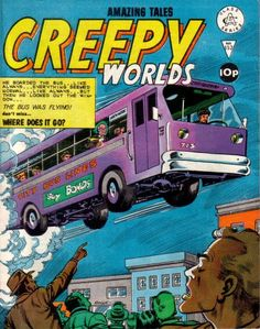 Cover for Creepy Worlds (Alan Class, 1962 series) #152