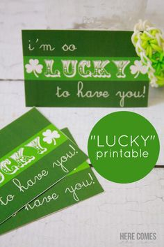 """""""Lucky to Have You"""" Printable - Here Comes The Sun"""