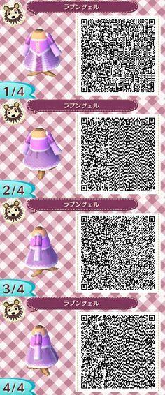 Animal Crossing New Leaf Rapunzel dress