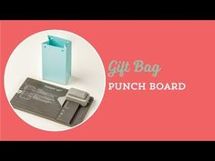 Stampin' Up!'s new Gift Bag Punch Board makes 3 different sizes; small, medium and large. Check out how fun and easy it is to use! Stampin' Up!, card, paper, scrapbook, craft, rubber, box, favor, www.lisasstampstudio.com