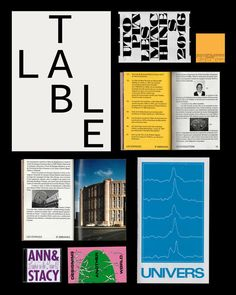 """Vintage Graphic Design thisiscatalogue:""""Great type and design work from Paris based Axel Pelletanche Thévenart. Vintage Graphic Design, Graphic Design Posters, Graphic Design Inspiration, Poster Designs, Editorial Layout, Editorial Design, Collage Book, Publication Design, Print Layout"""