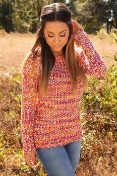 Little Taste Of Heaven Sweater: Multi #shophopes