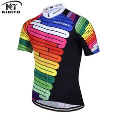 Cheap maillot ciclismo, Buy Quality cycling jersey summer directly from China cycling jersey Suppliers: KIDITOKT Hilai Breathable 2017 Pro Cycling Jersey Summer MTB Bike Wear Clothes Bicycle Clothing Ropa Maillot Ciclismo Cheap Cycling Jerseys, Bicycle Clothing, Bike Wear, Mtb Bike, Cycling Outfit, Sport Outfits, Mens Tops, How To Wear, Clothes
