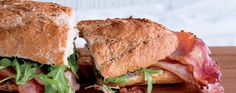 New-Style BLT Sandwich Supper Recipes, Salmon Burgers, Sandwiches, Meat, Ethnic Recipes, Food, Style, Swag, Dinner Recipes