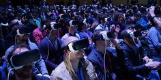 Samsung Put Me in an Absurd Hell Chamber of Virtual Reality Headsets