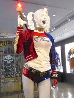 Suicide Squad Harley Quinn movie costume