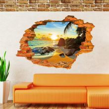 Vinilo Decorativo 3D HIDDEN BEACH