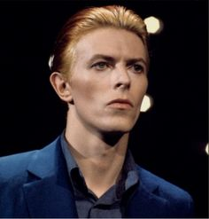 Bowie is so Beautiful it's Painful! ~ Blue