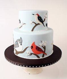 Bird cake from Charm City Cakes/Ace of Cakes