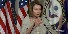 """PELOSI STUMPED WHEN ASKED WHETHER BABIES ARE HUMANS """"If it's not a human being, what species is it?"""" reporter asks"""