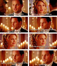 Izzie and Alex's wedding