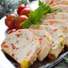 Pastel de pollo y verduras*