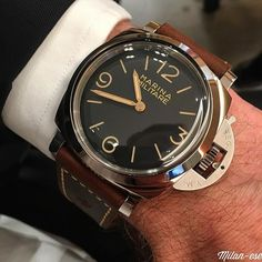 The new @panerai PAM00673. Gorgeous isn't it? It's a special edition limited to 1000 pieces.