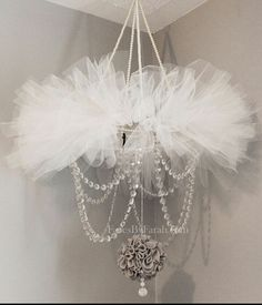 tutu crystal chandelier