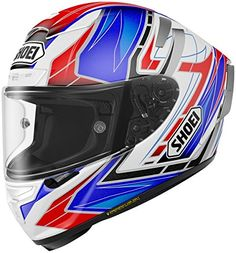 Shoei Assail X-14 Sports Bike Racing Motorcycle Helmet - TC-2 / 2X-Large. Aerodynamic properties are maximized through extensive wind tunnel testing and professional riders' feedback. Dual-Layer Multi-Density EPS liner enhances impact absorption and ventilation. Four shell and five EPS liner sizes present increased fit options that help to comfortably fit most head sizes. Impact absorbing EPS liner throughout the entire chin bar with Cheek Pad Cooling System. Standard Rear Flaps can be...