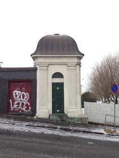 Electrical Substation Reykjavik Iceland