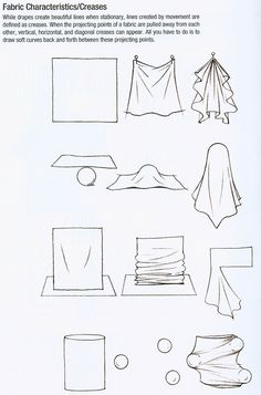 How to Draw Cloth ,How to Draw Fabric Folds Tutorial by Jane Mere || CHARACTER DESIGN REFERENCES | Find more at https://www.facebook.com/CharacterDesignReferences if you're looking for: #line #art #character #design #model #sheet #illustration #expressions #best #concept #animation #drawing #archive #library #reference #anatomy #traditional #draw #development #artist #pose #settei #gestures #how #to #tutorial #conceptart #modelsheet #cartoon