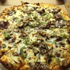 Domino S Philly Cheesesteak Pizza Deals Craving Pizza Vegetarian Recipes Food Coupon