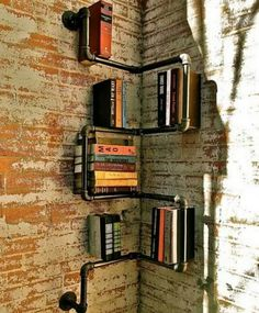 Pipe shelves