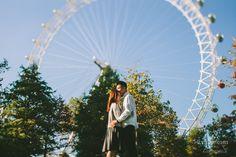 London Eye, London Southbank Engagement Shoot | Alternative & Creative Wedding Photography UK & Destination | weheartpictures.com
