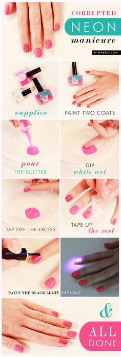 3 summer manicures you have to try! // love this nail art