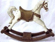 Cavallo a dondolo marrone cavalluccio cavallino idea regalo