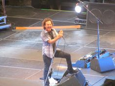 great concert! Eddie Vedder of Pearl Jam in Missoula 9/30/12