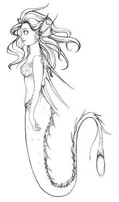 anglerfish mermaid - Google Search