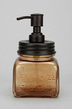 Glass & Metal Soap Pump $22