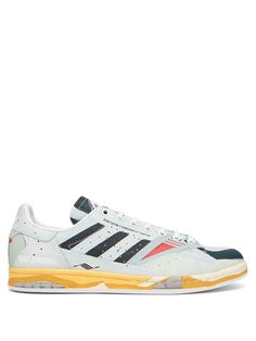 2a2ce0d67c0c4 ADIDAS BY RAF SIMONS Stan Smith Torsion-print leather trainers.   adidasbyrafsimons  shoes